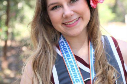 Cheerleader Charlotte Haas